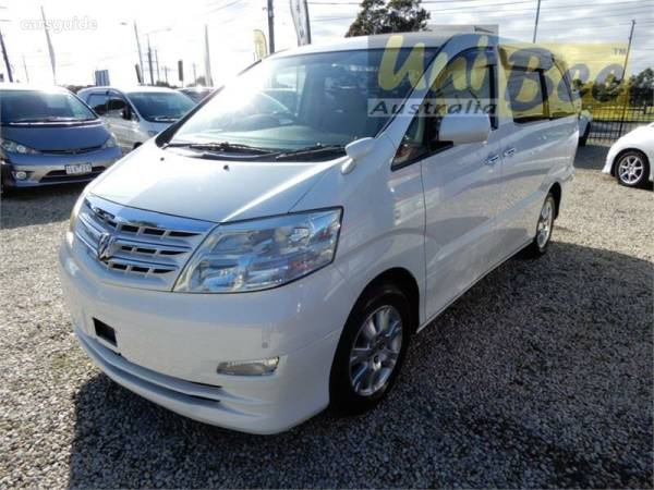 Toyota Com Mx >> 2005 Toyota Alphard Mx For Sale 16 590 Wagon Carsguide