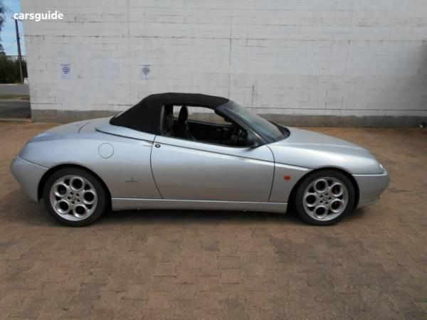 2002 Alfa Romeo Spider V6 For Sale $9,990 Manual Convertible
