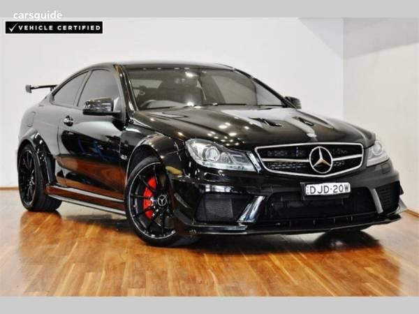 2012 Mercedes Benz C63 Amg Black Series For Sale 184 900