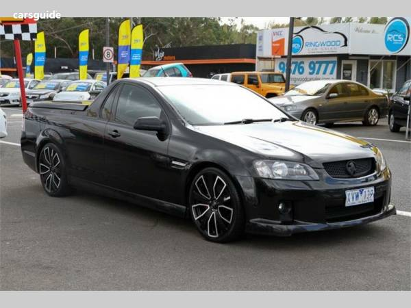 2010 Holden Commodore SV6 For Sale $18,990 Manual Ute / Tray