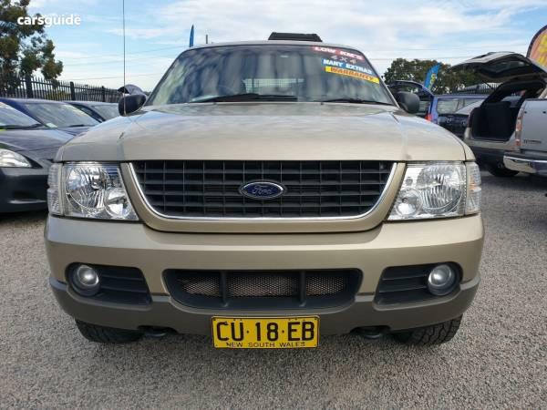 2002 Ford Explorer UT XLT Wagon 4dr Man 5sp 4x4 4 0i