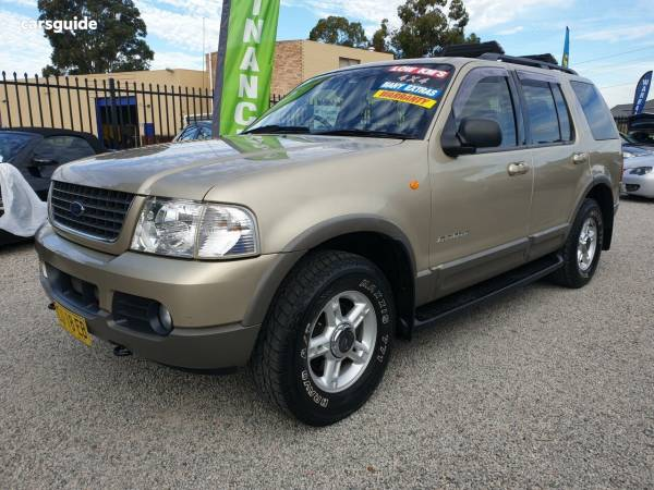 2002 Ford Explorer UT XLT Wagon 4dr Man 5sp 4x4 4 0i For