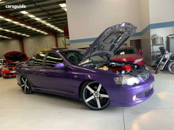 2003 Ford Falcon XR6 Turbo For Sale $12,499 Sedan   carsguide