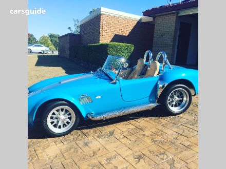2011 AC Shelby Cobra Replica Roadster
