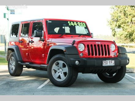 Jeep Wrangler for Sale Brisbane QLD   carsguide