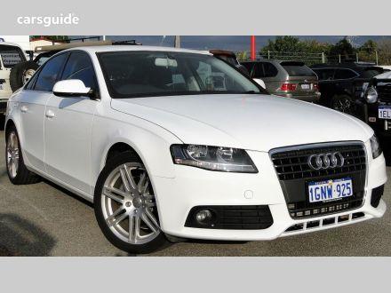 White Audi A4 For Sale Carsguide