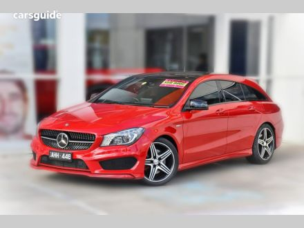 Red Mercedes Benz Cla250 Station Wagon For Sale Carsguide