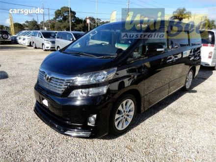 Toyota Vellfire for Sale Melbourne VIC   carsguide