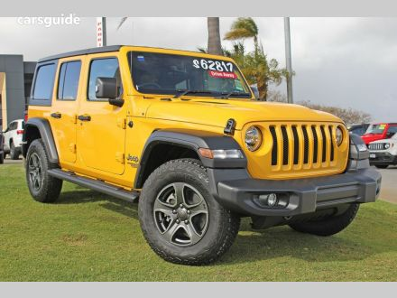 Yellow Jeep for Sale | carsguide