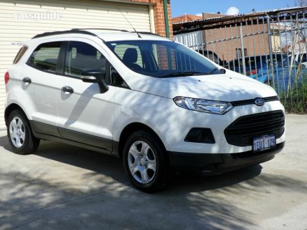 White Ford Ecosport Suv For Sale Carsguide