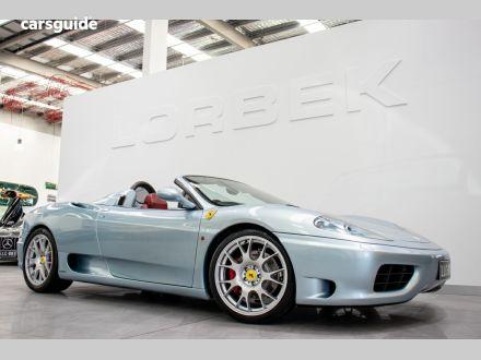 Ferrari 360 Convertible For Sale Port Melbourne 3207 Vic