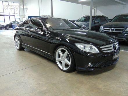 2008 Mercedes-Benz CL500