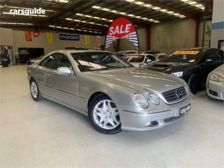 2000 Mercedes-Benz CL500