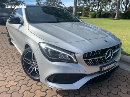 2018 Mercedes-Benz CLA180