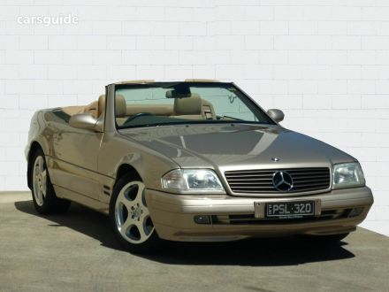 2001 Mercedes-Benz SL320