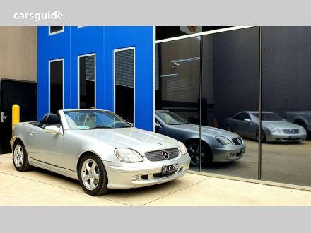 2001 Mercedes-Benz SLK320