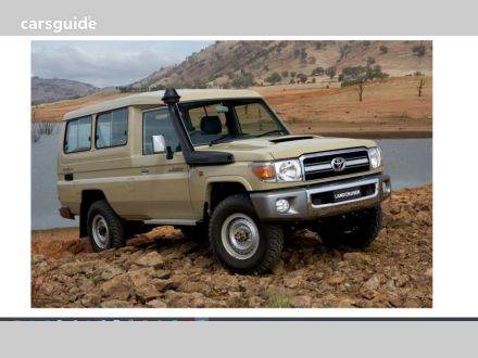 2020 Toyota Landcruiser 70 Series