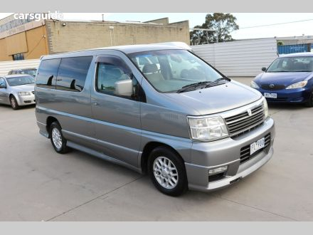 2001 Nissan Elgrand
