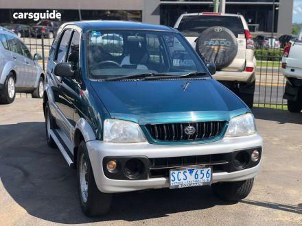 2002 Daihatsu Terios