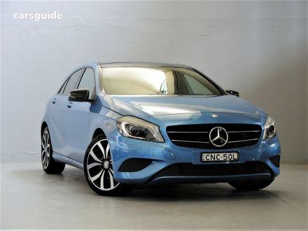 2013 Mercedes-Benz A180