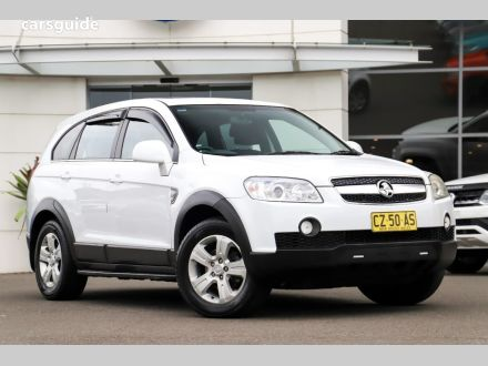 2010 Holden Captiva