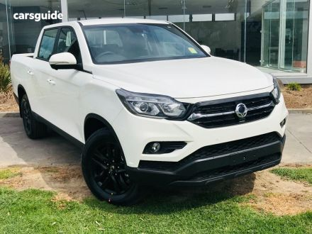 2020 Ssangyong Musso XLV
