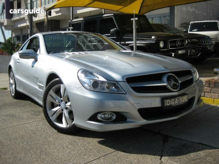 2008 Mercedes-Benz SL500