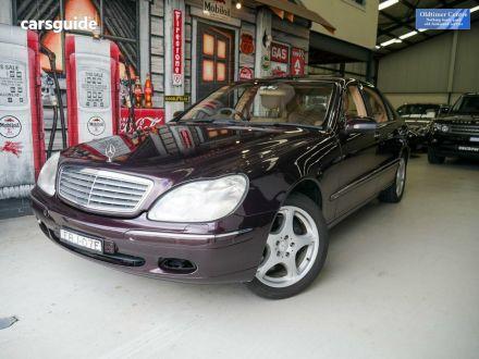 2000 Mercedes-Benz S600