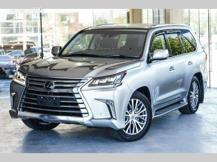 2021 Lexus LX450D
