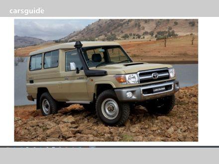 2021 Toyota Landcruiser 70 Series