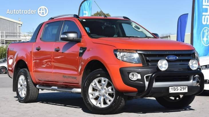 2014 Ford Ranger Wildtrak 3 2 (4X4)