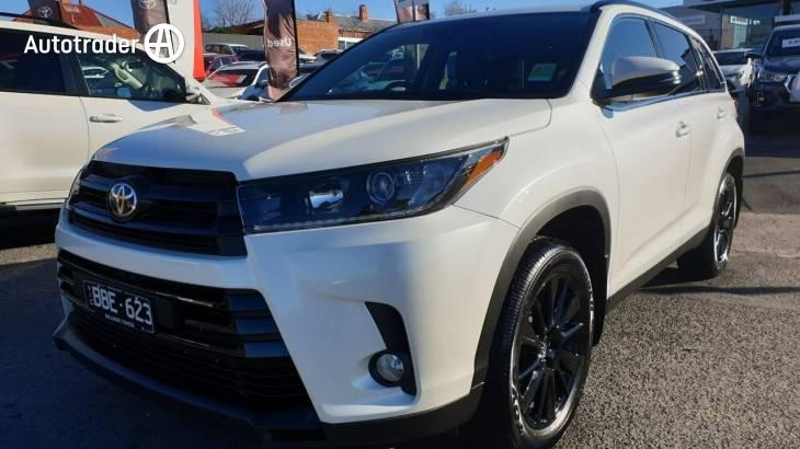 2019 Toyota Kluger Gxl Black Edition 2wd