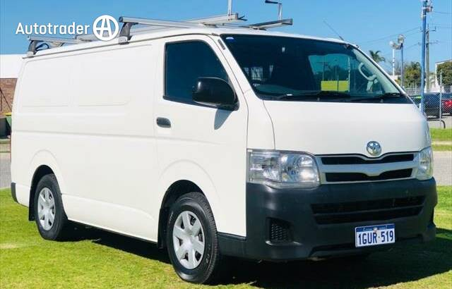 Toyota Hiace Cars for Sale in Perth WA | Autotrader
