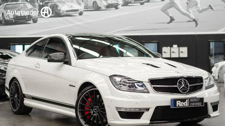 White Mercedes-Benz C63 W204 MY12 Coupe for Sale | Autotrader
