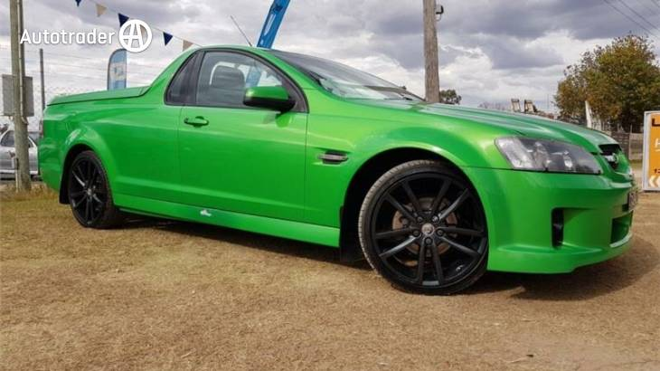Green Holden Commodore Ute for Sale | Autotrader