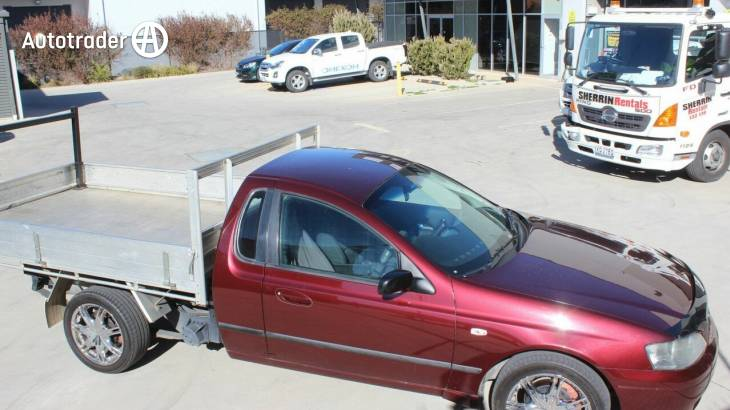 Red Ford Falcon Lpg Ute for Sale   Autotrader