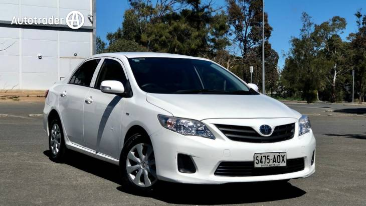 Used Car Dealerships Windsor >> Cheap Toyota Corolla for Sale Under $10,000 in Adelaide SA ...
