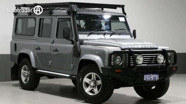 Land Rover Defender 90 Td5 Tyre Pressures